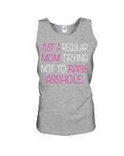Just A Regular Mom Trying Not To Raise  Unisex Tank thumbnail