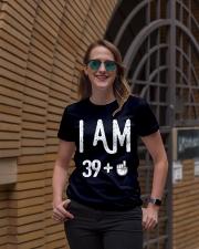 FUNNY Shirt -  I Am 39 - Amazing Shirt Ladies T-Shirt lifestyle-women-crewneck-front-2