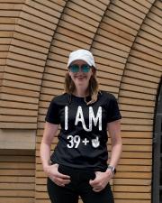FUNNY Shirt -  I Am 39 - Amazing Shirt Ladies T-Shirt lifestyle-women-crewneck-front-4