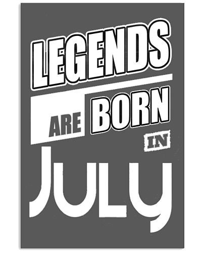 Legends Born in July - amazing shirt