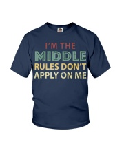 IM THE MIDDLE CHILD IM THE REASON WE HAV Youth T-Shirt thumbnail