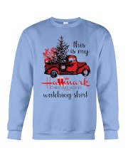 This is my HM Christmas movies watching shirt Crewneck Sweatshirt thumbnail