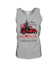 This is my HM Christmas movies watching shirt Unisex Tank thumbnail