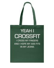 YEAH I CROSSFIT T shirt - Funny shirt Tote Bag thumbnail