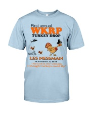 First annual WRKP Turkey Drop Classic T-Shirt front