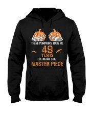 HALLOWEEN  49 YEARS - FUNNY SHIRT   Hooded Sweatshirt thumbnail