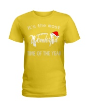 It's the most Wonderful - Time of the year  Ladies T-Shirt thumbnail