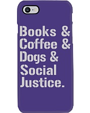 Book Coffee Shirt - FUNNY SHIRT   Phone Case thumbnail