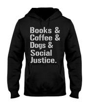 Book Coffee Shirt - FUNNY SHIRT   Hooded Sweatshirt thumbnail