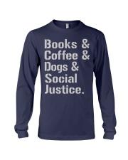 Book Coffee Shirt - FUNNY SHIRT   Long Sleeve Tee thumbnail