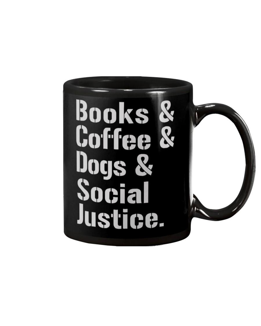 Book Coffee Shirt - FUNNY SHIRT   Mug