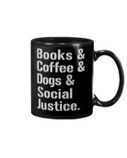 Book Coffee Shirt - FUNNY SHIRT   Mug front