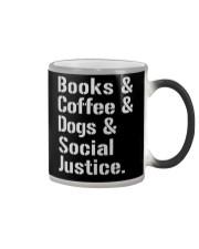 Book Coffee Shirt - FUNNY SHIRT   Color Changing Mug thumbnail