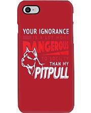 Pitpull Dangerous New release Phone Case thumbnail