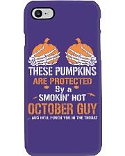 HALLOWEEN  OCTOBER GUY - FUNNY SHIRT   Phone Case thumbnail