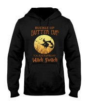 HALLOWEEN  BUCKLE UP - FUNNY SHIRT   Hooded Sweatshirt thumbnail