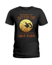 HALLOWEEN  BUCKLE UP - FUNNY SHIRT   Ladies T-Shirt thumbnail