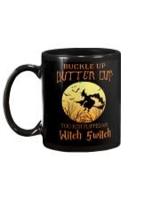 HALLOWEEN  BUCKLE UP - FUNNY SHIRT   Mug back