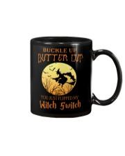 HALLOWEEN  BUCKLE UP - FUNNY SHIRT   Mug front