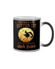 HALLOWEEN  BUCKLE UP - FUNNY SHIRT   Color Changing Mug thumbnail