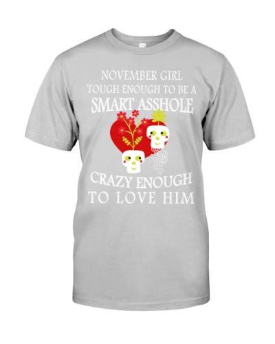 Funny Shirt - November Girl Shirt