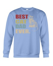 Best Cat Dad Ever T-Shirt Cat Daddy Gift Shirts Crewneck Sweatshirt thumbnail