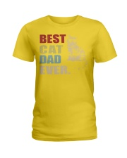 Best Cat Dad Ever T-Shirt Cat Daddy Gift Shirts Ladies T-Shirt thumbnail