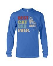 Best Cat Dad Ever T-Shirt Cat Daddy Gift Shirts Long Sleeve Tee thumbnail