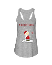 Christmas begins with Christ - Christmas gift Ladies Flowy Tank thumbnail