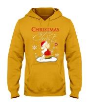 Christmas begins with Christ - Christmas gift Hooded Sweatshirt thumbnail