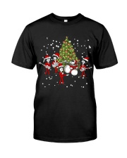 Christmas gift with Drum  Classic T-Shirt front