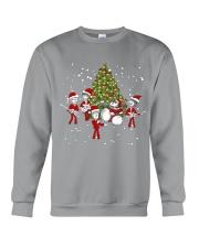 Christmas gift with Drum  Crewneck Sweatshirt thumbnail