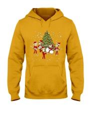 Christmas gift with Drum  Hooded Sweatshirt thumbnail