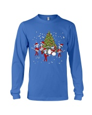 Christmas gift with Drum  Long Sleeve Tee thumbnail
