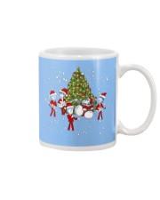 Christmas gift with Drum  Mug thumbnail