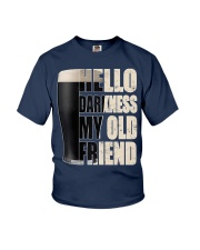 Hello Darkness My Old Friend Stout Beer  Youth T-Shirt thumbnail