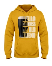 Hello Darkness My Old Friend Stout Beer  Hooded Sweatshirt thumbnail