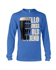 Hello Darkness My Old Friend Stout Beer  Long Sleeve Tee thumbnail