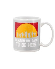 I PAUSE MY GAME TO BE HERE - RED GAMER COMIC Mug thumbnail