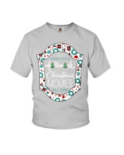 I just wanna watch HM Christmas Movies all day Youth T-Shirt thumbnail