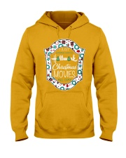 I just wanna watch HM Christmas Movies all day Hooded Sweatshirt thumbnail