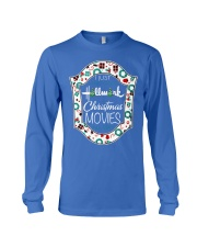 I just wanna watch HM Christmas Movies all day Long Sleeve Tee thumbnail