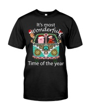 It's The Most Wonderful Time Of Year Hip Classic T-Shirt front