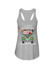 It's The Most Wonderful Time Of Year Hip Ladies Flowy Tank thumbnail