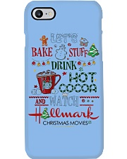 Let's Bake Stuff Drink Hot CoCoa and Watch Hm  Phone Case thumbnail