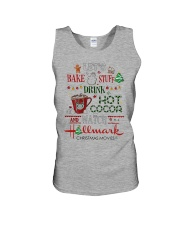 Let's Bake Stuff Drink Hot CoCoa and Watch Hm  Unisex Tank thumbnail