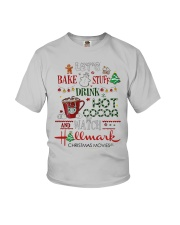 Let's Bake Stuff Drink Hot CoCoa and Watch Hm  Youth T-Shirt thumbnail