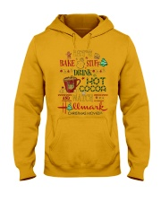 Let's Bake Stuff Drink Hot CoCoa and Watch Hm  Hooded Sweatshirt thumbnail
