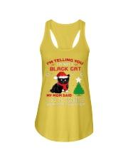 I'm telling you I'm not black cat Ladies Flowy Tank thumbnail