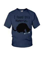 Meowy Cat Lovers Shirt Christmas Gift Youth T-Shirt thumbnail